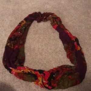 Beautiful floral scarf